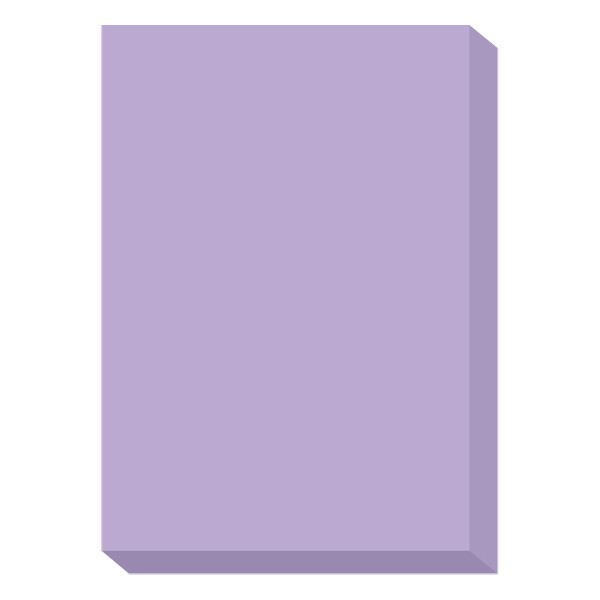 濃色カラーペーパー A4中厚口 紫 1冊(500枚入) 国内生産品