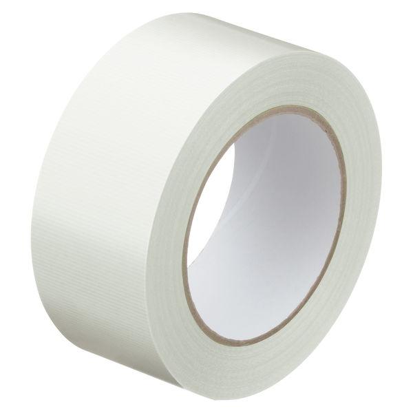 寺岡製作所「現場のチカラ」 貼ってはがせる養生テープ 1902 弱粘着 半透明 幅50mm×50m巻 1箱(30巻入)
