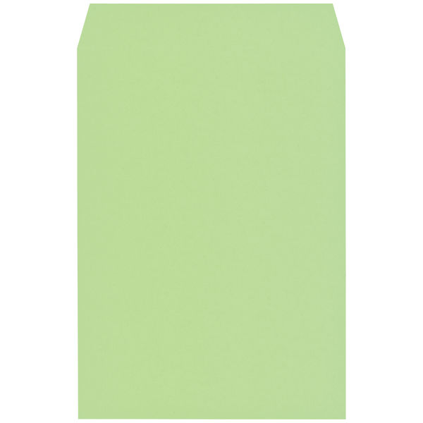 木下水引 エコカラー封筒 角2(A4) グリーン(うぐいす) 300枚(100枚×3袋)