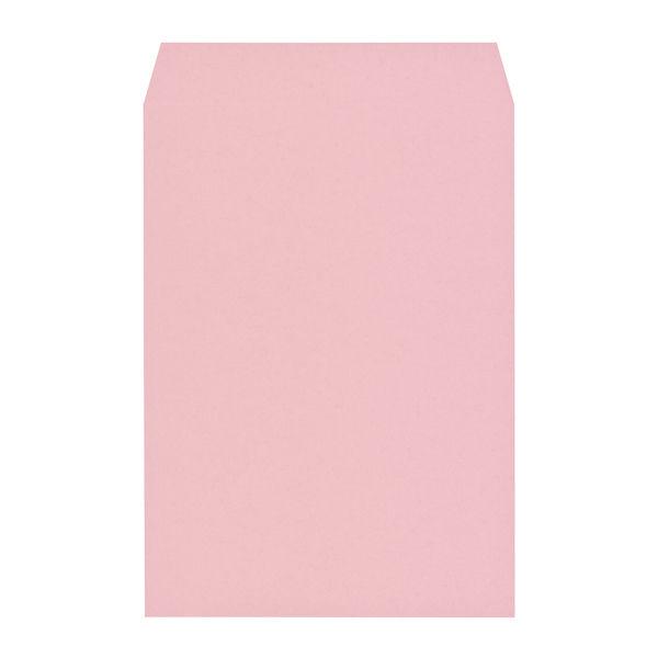 木下水引 エコカラー封筒 角2(A4) ピンク 500枚(100枚×5袋)
