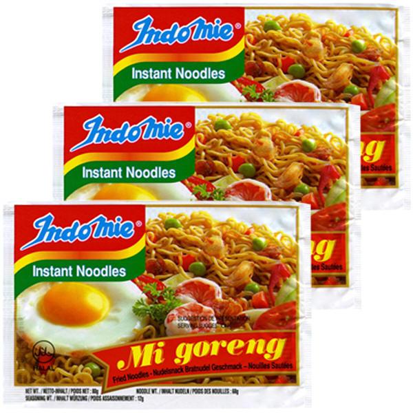 インドミー インスタント麺ミーゴレン3食