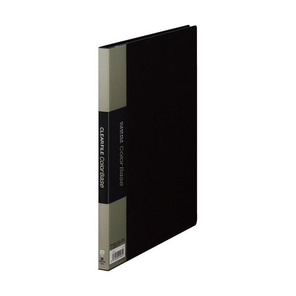 キングジム クリアーファイル 20P B5S 黒 122Cクロ (直送品)