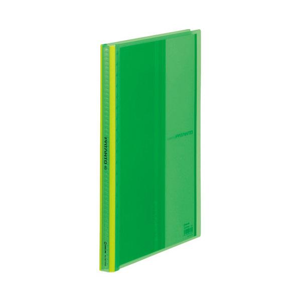 キングジム クリアーファイル パタント 緑 A4タテ 40ポケット 182TPNWミト (直送品)