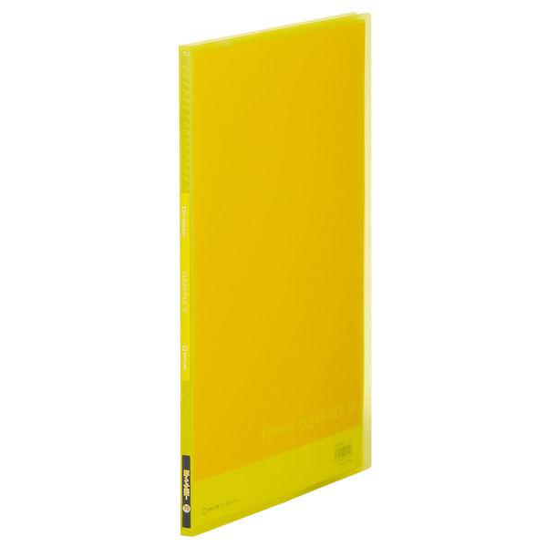 キングジム シンプリーズ クリアーファイル(透明) 黄 A4タテ 10ポケット 1186TSPHキイ 1冊 (直送品)