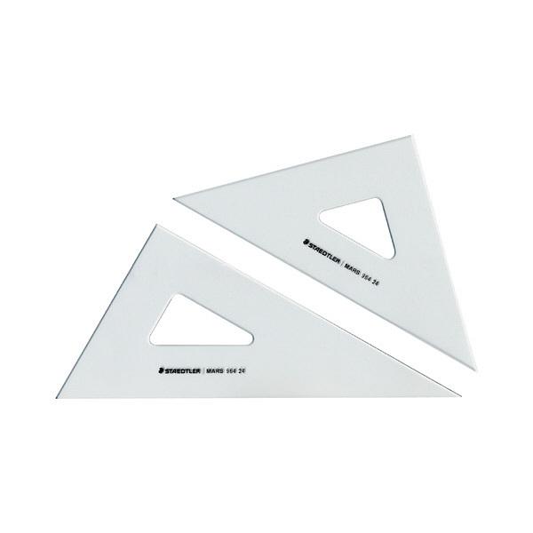 ステッドラー 三角定規 ペアセット18cm 964 18 (直送品)