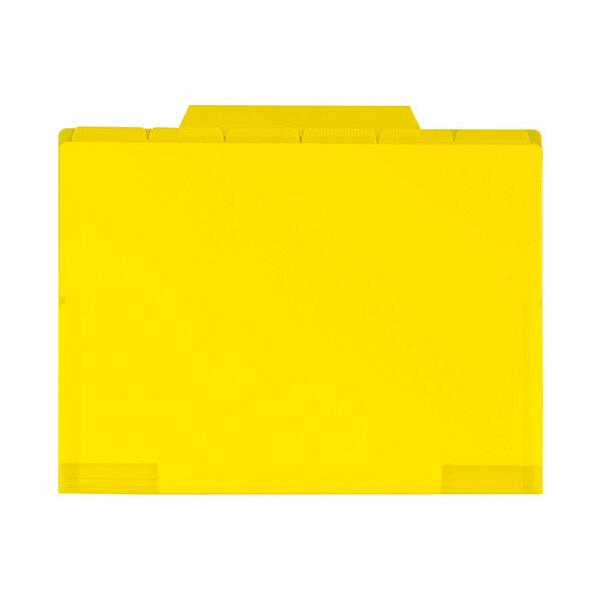 セキセイ 6インデックスフォルダA4 イエロー ACT-906-50 (直送品)