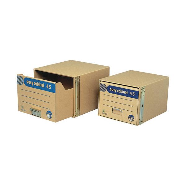 ゼネラル 文書保存箱 イージーキャビネット エコ45 引き出しタイプ B4用 EC-102 (取寄品)