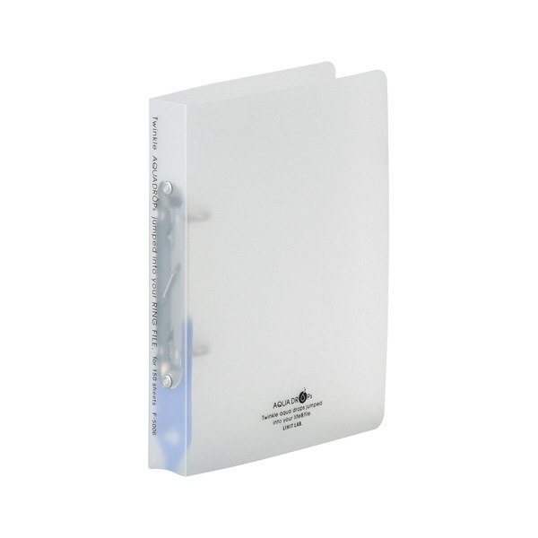 リヒトラブ ツイストリングファイルA5S 乳白 F5006-1 (直送品)