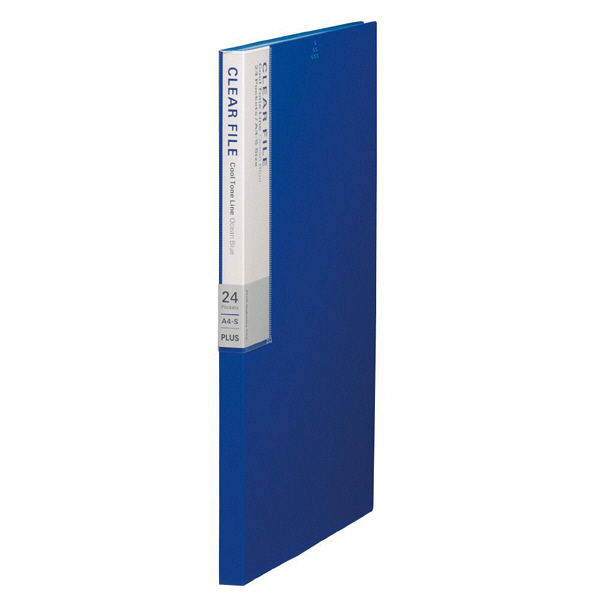 プラス デジャヴクリアーファイル24P FC124DP OCB (直送品)