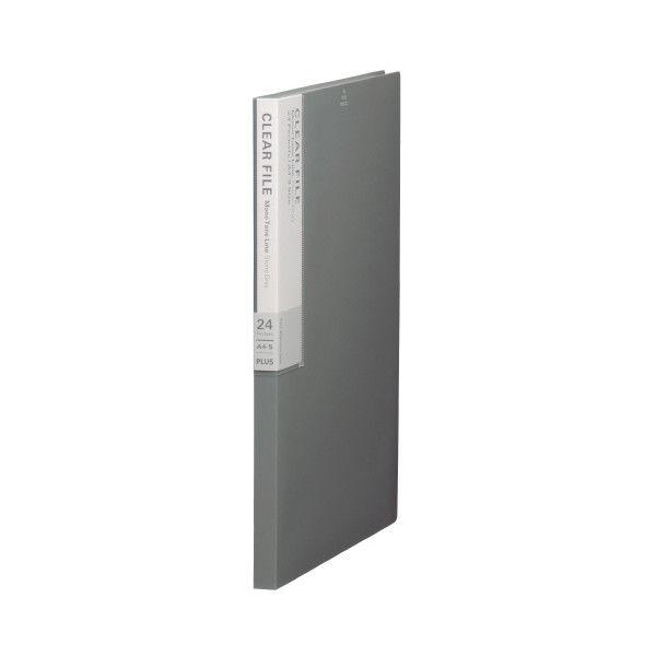 プラス デジャヴクリアーファイル24P FC124DP STG (取寄品)