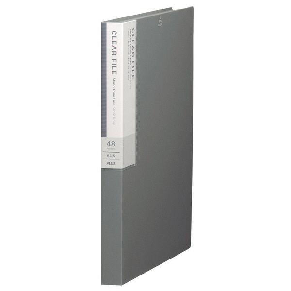 プラス デジャヴクリアーファイル48P FC148DP STG (直送品)