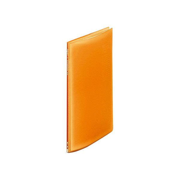 リヒトラブ クリヤーブック10P A4S オレンジ G3100-4 (直送品)