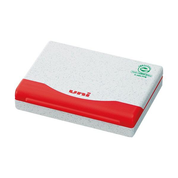 三菱鉛筆 スタンプ台1号 赤 HSP1F.15 (直送品)