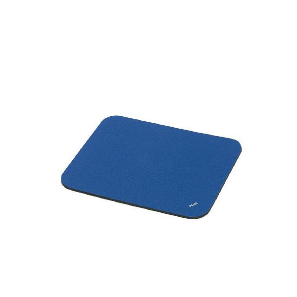 プラス マウスパッド ブルー MM-521T BL (直送品)