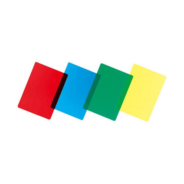 色透明下敷 緑 NO.8712-G 共栄プラスチック (直送品)