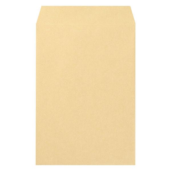 マルアイ 事務用封筒 PK-168 角6 100枚 クラフト 郵便番号枠なし 接着テープ無 (直送品)