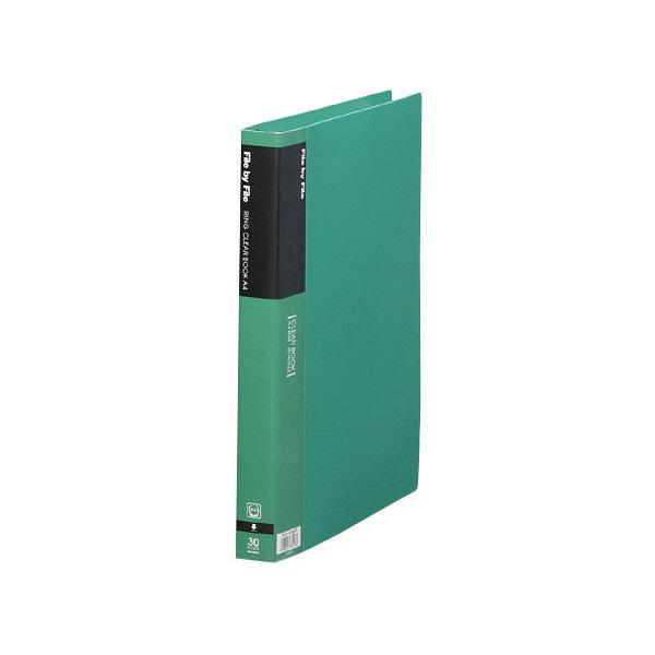 ビュートン リングクリヤーブック A4S RCB-A4-30GN (直送品)