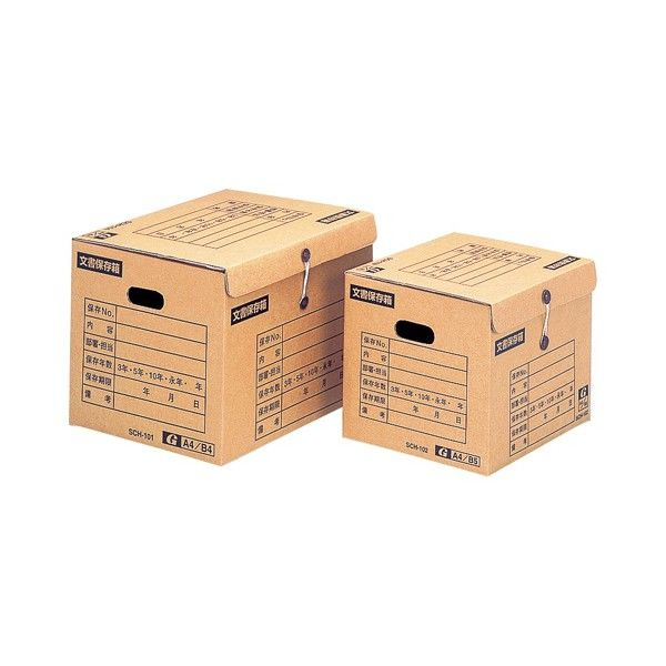 イージーストック文書保存箱 SCH-101 ゼネラルサプライ (取寄品)