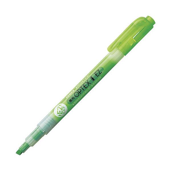 ゼブラ 蛍光オプテックス1 EZ 緑 WKS11-G (直送品)