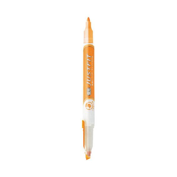 ゼブラ 蛍光ペン ジャストフィット 5色 WKT17-5C (直送品)