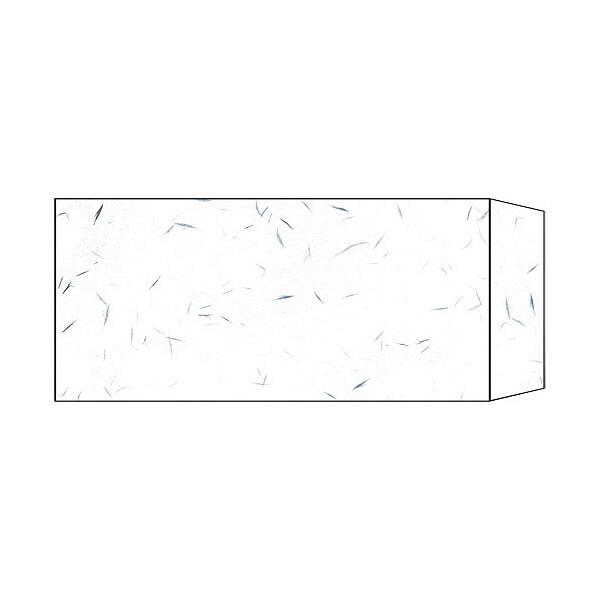 長門屋商店 和み紙 ナフ-211 封筒 長4 10枚 白 郵便番号枠なし (直送品)