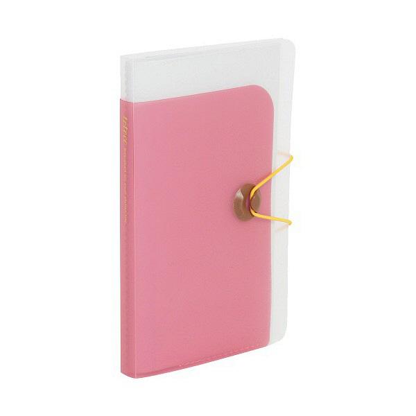 totocoカードホルダー 透明 ピンク