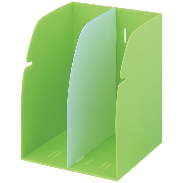 リヒトラブ ブックスタンド 黄緑 G1620-6
