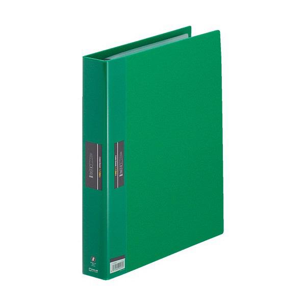 キングジム ヒクタス バインダータイプ A4S 緑 7139Wミト (直送品)