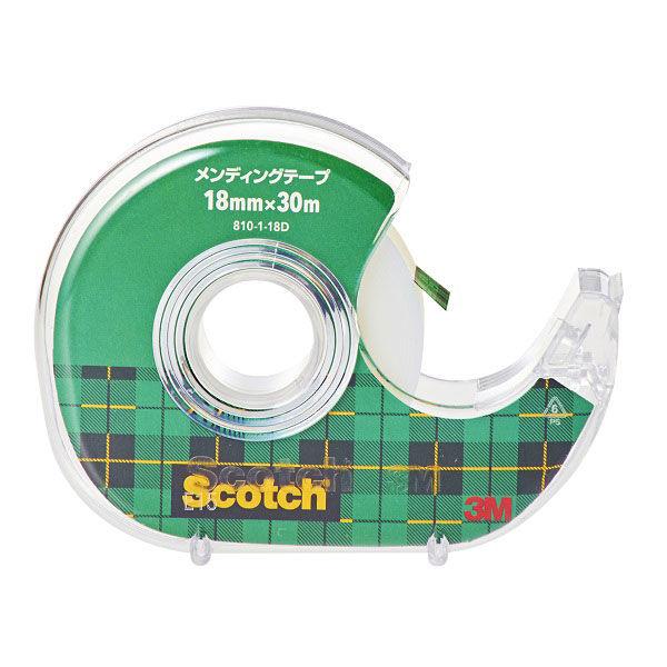 スリーエム ジャパン メンディングテープ 810-1-18D (直送品)
