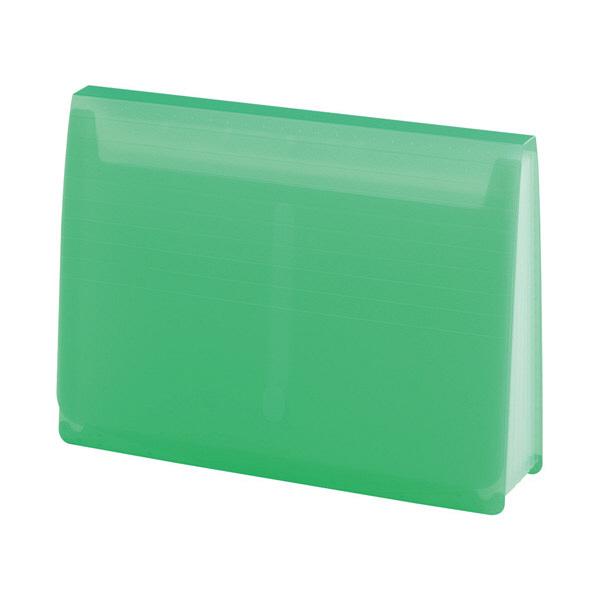 リヒトラブ エクスパンディングファイル 黄緑 A-5050-6 (直送品)