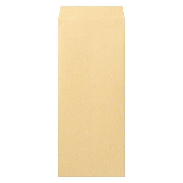 マルアイ 事務用封筒 PN-118 長1 100枚 クラフト 郵便番号枠なし 接着テープ無 (直送品)
