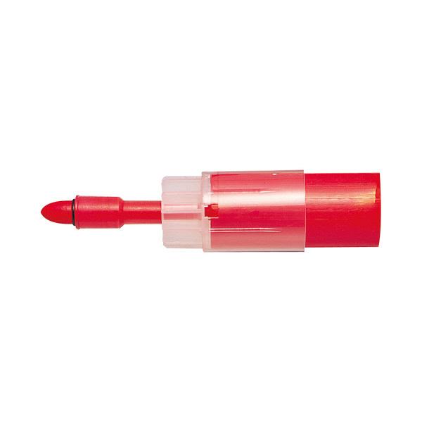 三菱鉛筆(uni) ホワイトボードマーカー お知らセンサーカートリッジ 太字丸芯 赤 PWBR1607M 1本