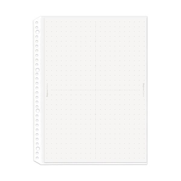プラス リフィルポケット ホワイト A4S 10枚 RE-141DP (直送品)