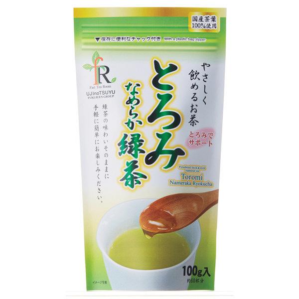宇治の露製茶 とろみなめらか茶 緑茶 1袋