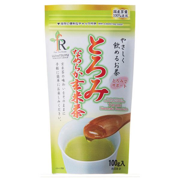 宇治の露製茶 とろみなめらか茶 玄米茶 1袋
