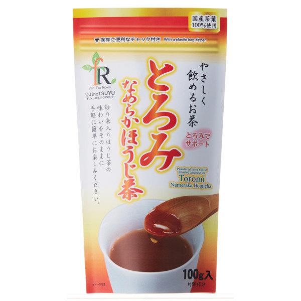 宇治の露製茶 とろみなめらか茶 ほうじ茶 1袋
