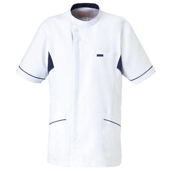 メンズケーシー 1015EW ホワイト×ネイビー L (取寄品)