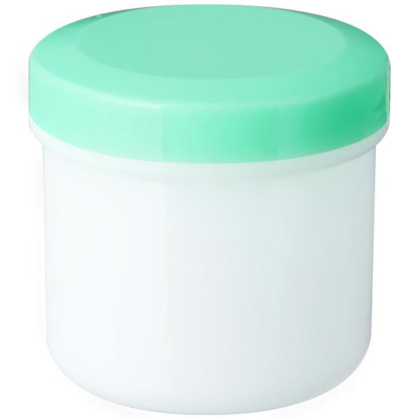 定量型軟膏容器100mlライトグリーン