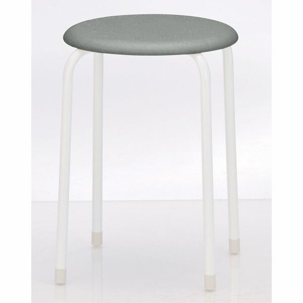 丸椅子(抗菌張地) グレー