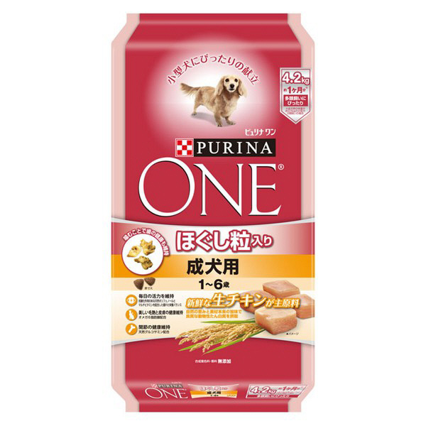 ワンドッグほぐし粒成犬チキン4.2kg