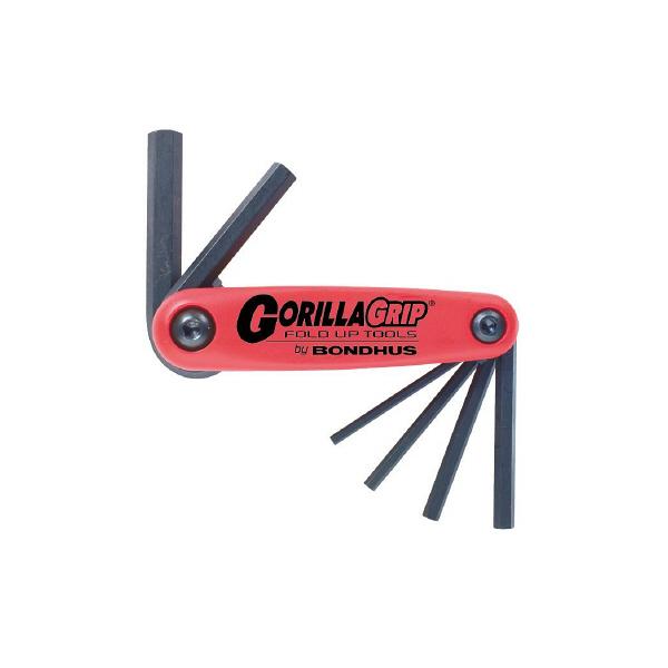 ボンダス ナイフ型ツール ゴリラグリップ6本組(mm) HF6M