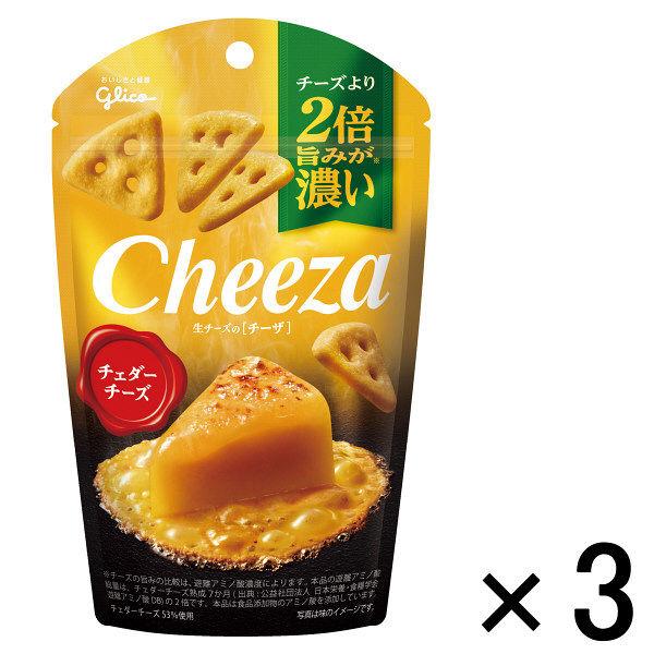 生チーズのチーザ チェダーチーズ 3個