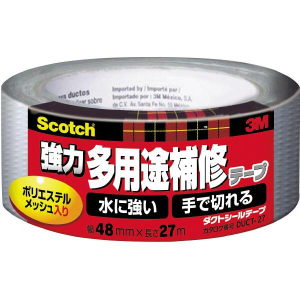 スリーエム ジャパン 強力多用途補修テープ 48mmx27m DUCT-27 1セット(1個×5)