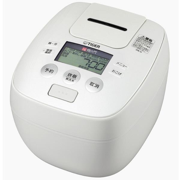 タイガー圧力炊飯器JPB-H181WU