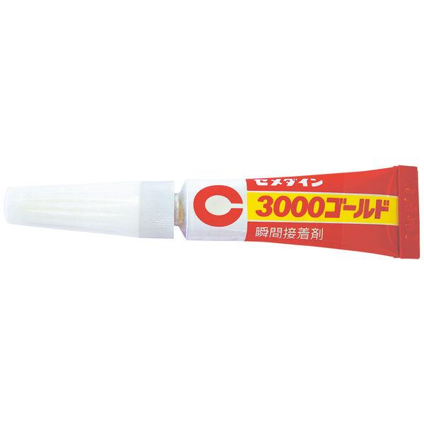 【瞬間接着剤】セメダイン 3000ゴールド P3g CA-064