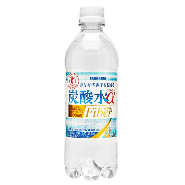 【トクホ】炭酸水α 500ml 24本