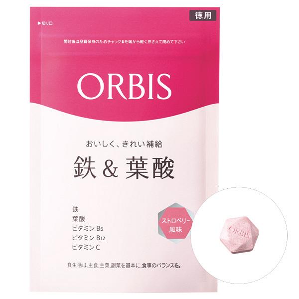 オルビス 鉄&葉酸 ストロベリー風味徳用