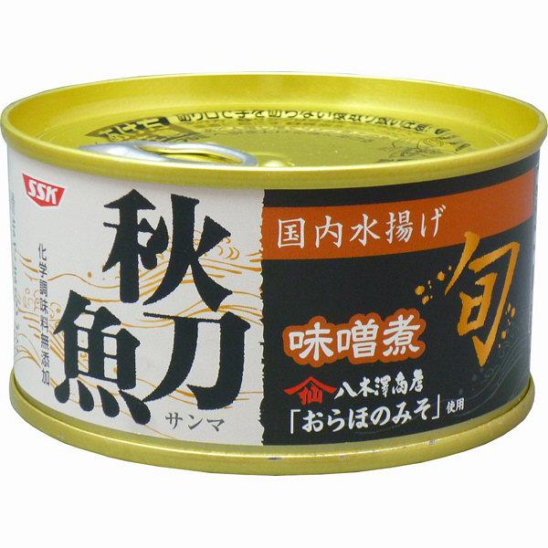 SSK 旬 秋刀魚味噌煮