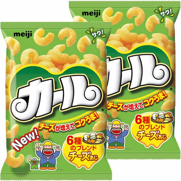 LOHACO - 明治 カールチーズあじ...
