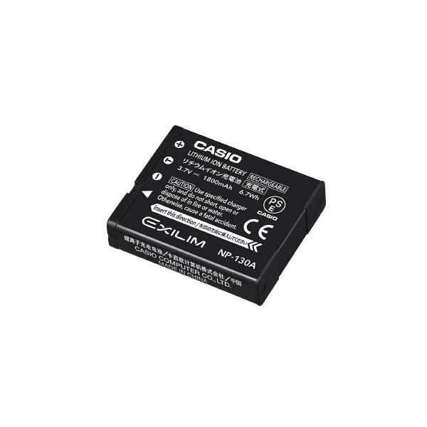 カシオ計算機 デジタルカメラ用リチウムイオン充電池 NP-130A